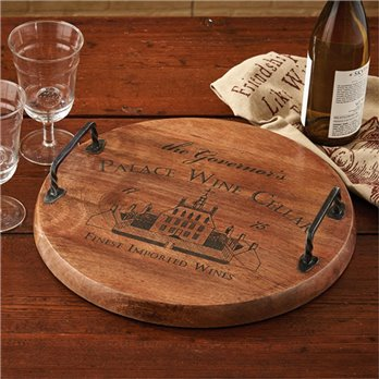 Palace Wine Cellar Wood Tray