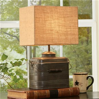 Miner's Lunchbox Lamp