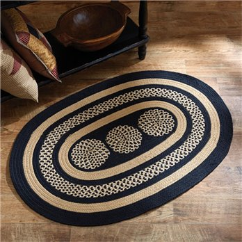 Miriam Oval Braided Rug 36X48