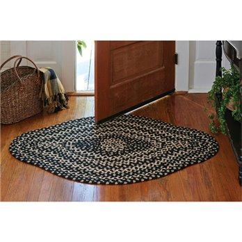 Kendrick Diamond Braided Rug 36x56