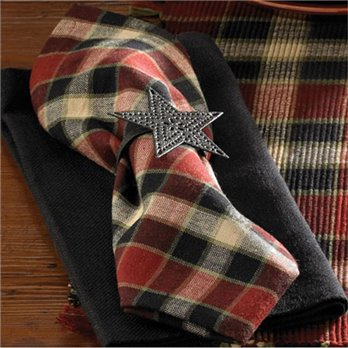 Concord Bear Plaid Napkin