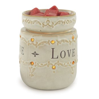 Live, Love, Laugh Wax Warmer by Candle Warmers