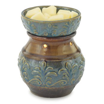 Fleur de Lis Wax Warmer by Candle Warmers