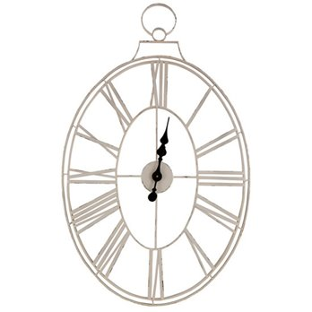 White Wire Clock