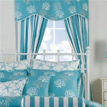 Captiva Drapes with Tiebacks