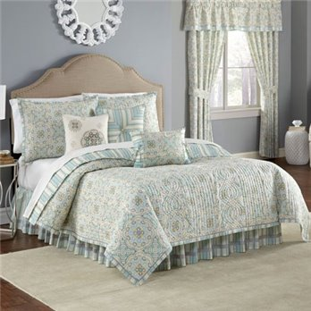 Waverly Astrid Reversible 4 Piece Full/Queen Quilt Set