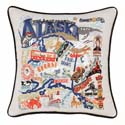 Alaska Embroidered Pillow