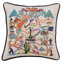 Arizona Embroidered Pillow