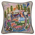 Big Bend Embroidered Pillow
