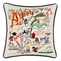Atlanta Embroidered Pillow