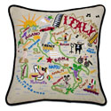 Italy Embroidered Pillow