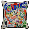 Ottawa Embroidered Pillow