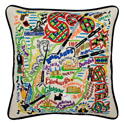 Scotland Embroidered Pillow