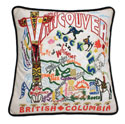 Vancouver Embroidered Pillow