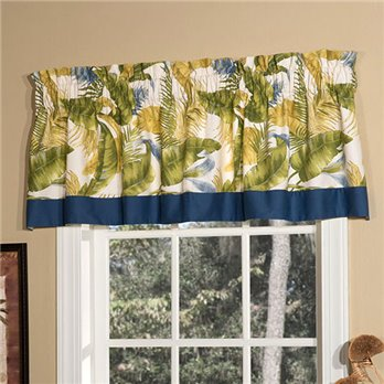 Cayman Tailored Valance with Band