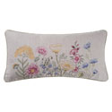 Jeanette Embroidered Pillow 12 x 24