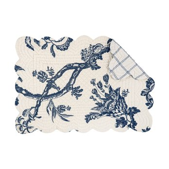 Arcadia Rectangular Quilted Placemat