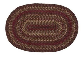 Cinnamon Oval 8 ft X 10 ft Rug