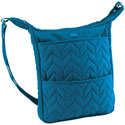 Lug Compass Shoulder Pouch - Ocean Blue