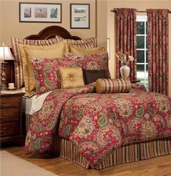 "Dalyan King Thomasville Comforter Set (18"" bedskirt)"