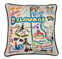 Delaware Embroidered Pillow