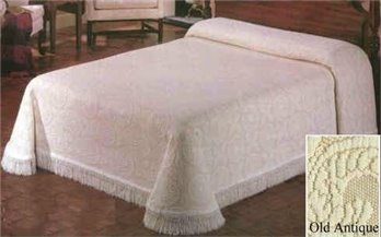 Heirloom Twin Old Antique Bedspread