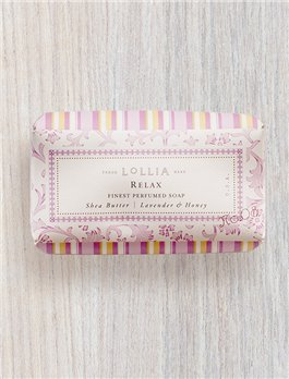 Lollia Relax No. 08 Shea Butter Soap by Margot Elena