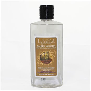 La Tee Da Fuel Fragrance Amber Woods (16 oz.)