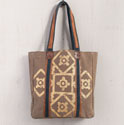 Mona B. Mosaic Canvas Tote Bag