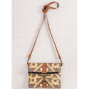Mona B. Mosaic Fold-Over Crossbody
