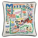 Missouri Embroidered Pillow