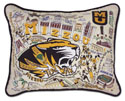 Mizzou Embroidered Pillow