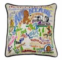 Montana Embroidered Pillow