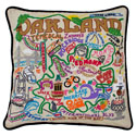 Oakland Embroidered Pillow