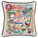 Ohio Embroidered Pillow