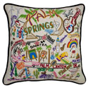Palm Springs Embroidered Pillow