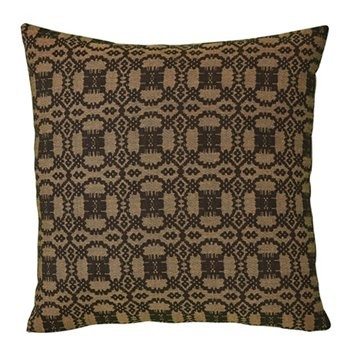 "Campbell Black 18"" Throw Pillow"