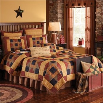 Montclair King 3 Piece Quilt set
