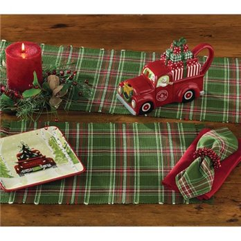 Wintergreen Plaid Napkin