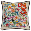 San Diego Embroidered Pillow