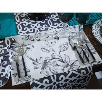 Madison Geo & Floral Rectangular Placemat by Split-P