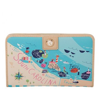 Spartina 449 Sea Islands Snap Wallet