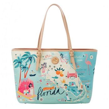 Spartina 449 Greetings from Florida Tote