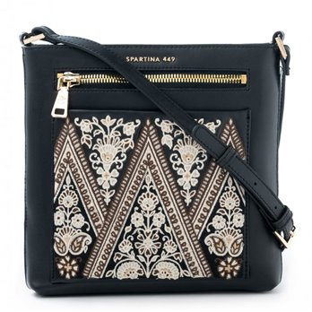 Henna Embroidered Crossbody by Spartina 449 | P. C. Fallon Co.