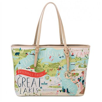Spartina 449 Greetings from the Great Lakes Tote