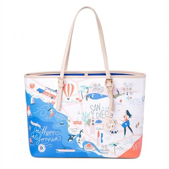 Spartina 449 Greetings from Southern California Tote