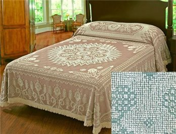 Spirit of America Bedspread Queen Sage