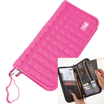 Lug Tango Travel Wallet - Rose Pink