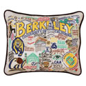 UC Berkeley Embroidered Pillow