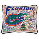 University of Florida Embroidered Pillow